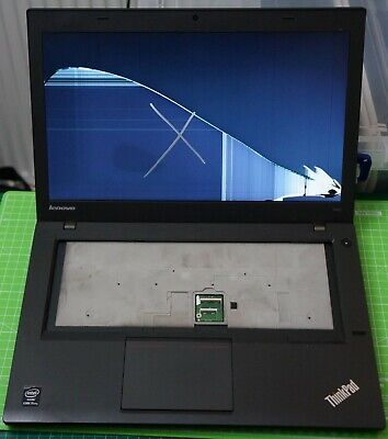 Lenovo T440 i5-4300U BIOS PW + Cracked Screen + Incomplete Spares Repair Faulty for sale  Shipping to Ireland
