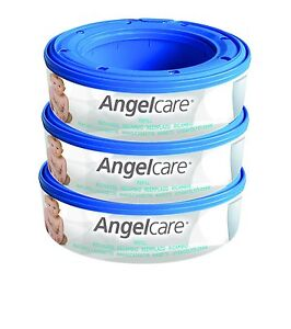 Angelcare-Nappy-Disposal-System-Refill-Cassettes-Pack-of-3-3-Pack