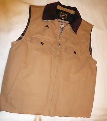 Wyoming Traders Concealed Carry Vest (Lg) Tan