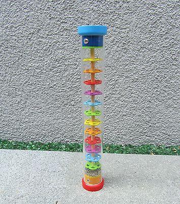 "Regenmacher Musikinstrument Regenstab Länge 34cm Ø 5,5cm ""Hohe Qualität"" 61947"