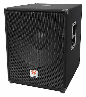 "Rockville PBG18 18"" Passive 2000 Watt 8 Ohm Pro Audio Subwoofer Sub/MDF Cabinet"
