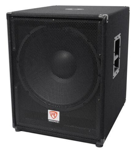 """Rockville PBG18 18"""" Passive 2000 Watt 8 Ohm Pro Audio Subwoo"""