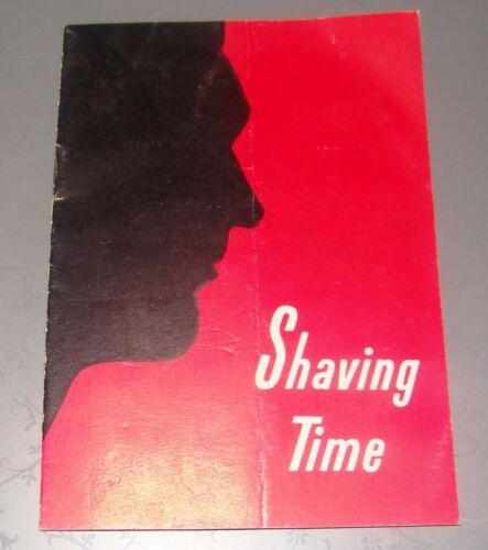 vintage advertise brochure leaflet Schick shaving company machine USA razors