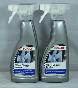 sonax full effect wheel cleaner 16 9oz spray alloy chrome painted. Black Bedroom Furniture Sets. Home Design Ideas