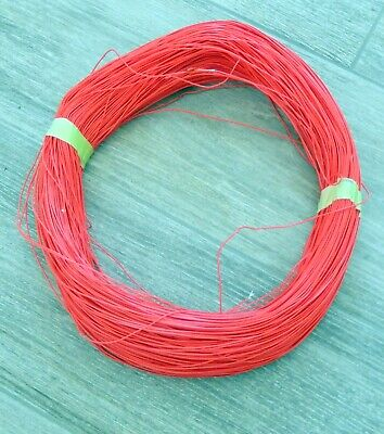 20 Awg Mil-spec Wire Teflon Ptfe Red Stranded Silver Plated