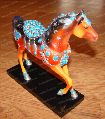 Native Jewel (Trail Painted Ponies by Westland, 12243) 2nd Edition, Turquoise