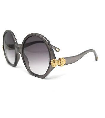 CHLOE Sunglasses CE745S 036 Dark Grey Round Women 56x20x140