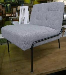 New York Scandi Commercial Armchair Waiting Room Chair Grey Metal Melbourne CBD Melbourne City Preview