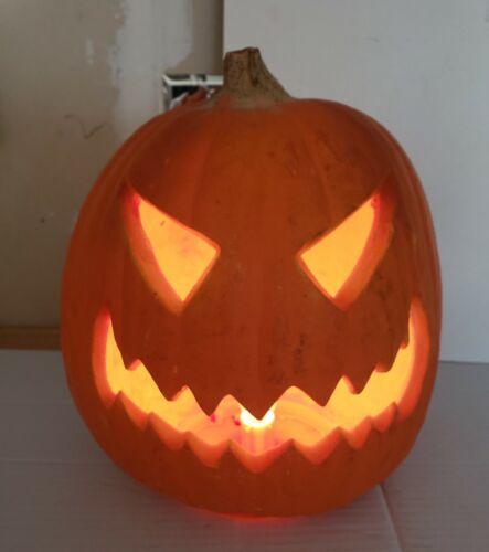 Vintage Classic 1993 Trendmasters  Halloween Jack O Lantern Pumpkin Lighted Prop