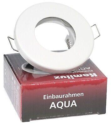 Einbauleuchten Badezimmer Beleuchtung (Kamilux Badezimmer Einbauleuchten 12V / 230V K92146 Aqua IP65 Duschstrahler)