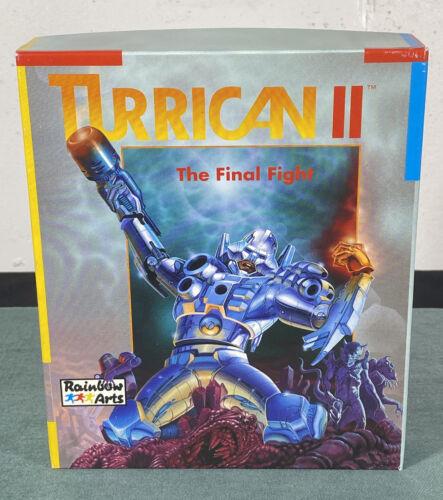 Computer Games - Commodore Amiga Turrican II PC Computer Video Game w/ Manual & Box