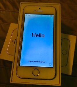 iPhone 5s - 32 GB - gold, w/box & case