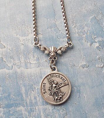 12th Century AD Lifetime Money Back Guarantee Rare Ancient Saint Michael the Archangel Pendant