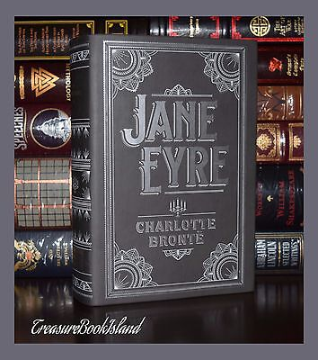 Jane Eyre by Charlotte Bronte Brand New Leather Bound Collectible Deluxe -