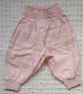 Sunday pink/grey culotte shorts 0-3 mths Willagee Melville Area Preview