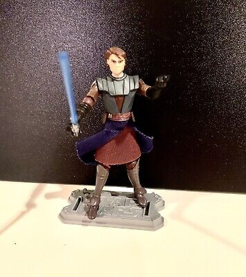 Star Wars Clone Wars Anakin Skywalker 3.75 Inch Action Figure Complete