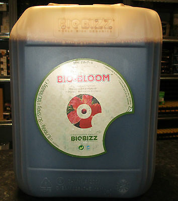 BIOBIZZ BIO BLOOM 10L ORGANIC PLANT FLOWERING  NUTRIENT HYDROPONICS