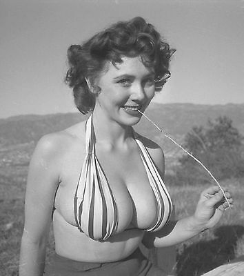 Ww2 Photo Wwii  World War Two Girl In  Bathing Suit World War Two Pinup    1506