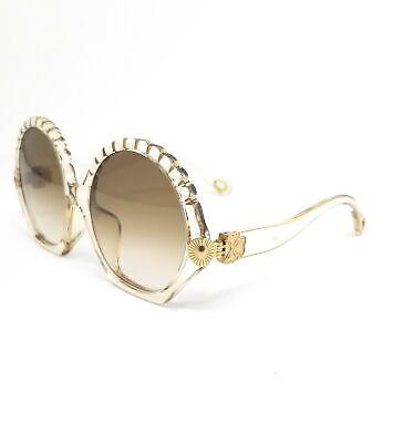 CHLOE Sunglasses CE747SA 688 Champagne Round Women 56x17x140
