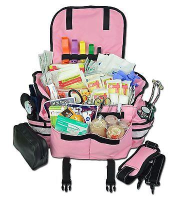Lightning X Small First Responder Emt Trauma Bag Stocked First Aid Fill Kit B Pk