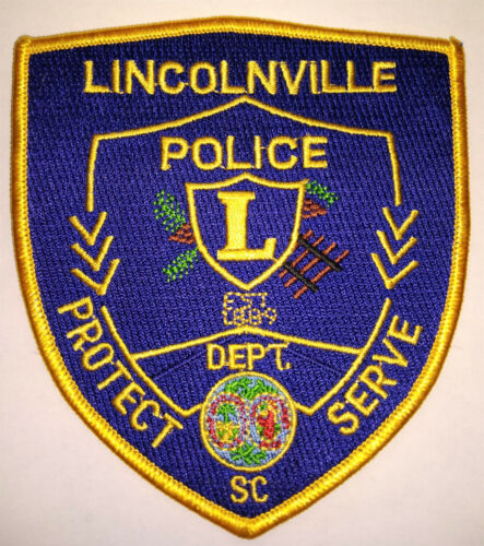 Lincolnville South Carolina Police Patch // FREE US SHIPPING!