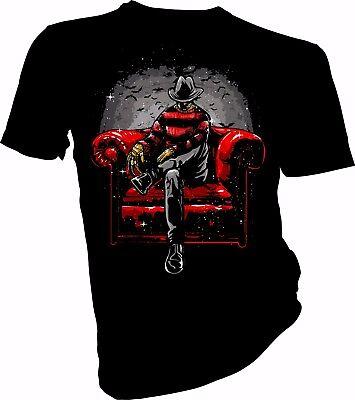 alloween, Horror, Nightmare on Elm Str Adult & Kids T-Shirt (Halloween Horror Night Nightmares)
