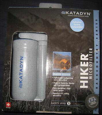 Katadyn Hiker Micro Filter backpacking/emergency water filter