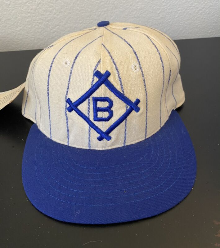 New 1912 BROOKLYN DODGERS 100% Wool THROWBACK Baseball Cap Fitted Size 7 Hat