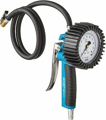 Hazet geeicht Reifenfüller Reifendruckmessgerät geeicht Luftdruckprüfer 9040G-1