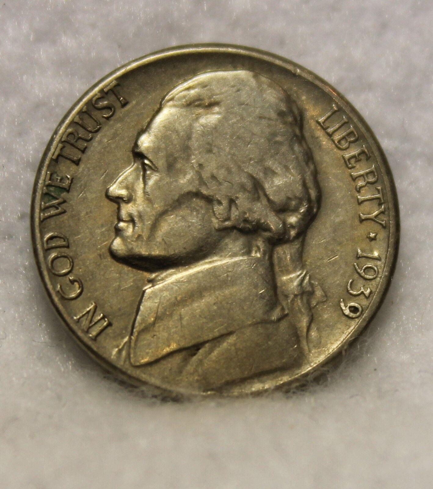 1939S Jefferson Nickel - $5.50