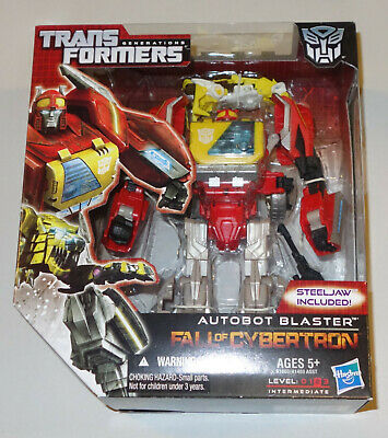 TRANSFORMERS Generations - AUTOBOT BLASTER - STEELJAW - Voyager Class NEW SEALED