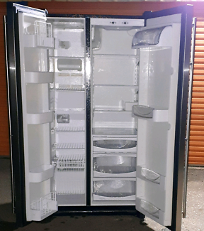 Stainless Steel 620 litre Maytag fridge freezer CALLS ONLY