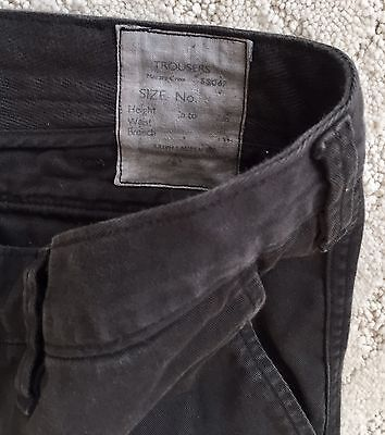 Polo Ralph Lauren Slim Fit Black Cargo Pants. 34 Men's Trousers.