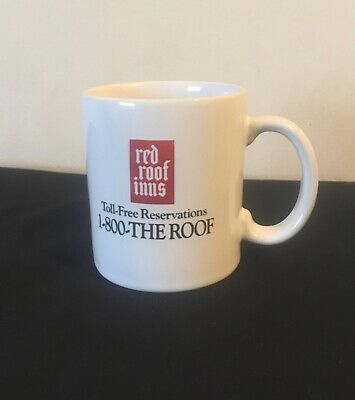 Vintage Red Roof Inns Coffee Mug