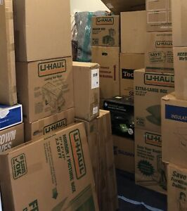 Moving & Storage Boxes - See Description for Prices