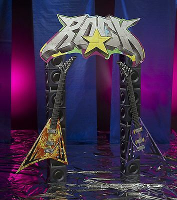 Rock Star Arch Heavy metal party decorations -  Party Cardboard Cutout (Rock Star Decorations)