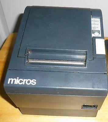 Micros Tm-t88ii Model M129b Pos Thermal Receipt Printer- Idn Port - Autocut