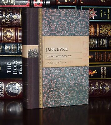 Jane Eyre by Charlotte Bronte New Deluxe Collectible Hardcover -