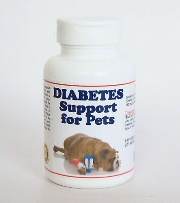 DIABETES SOLUCION PARA PERROS Y GATOS (60 Capsules - Made in USA)