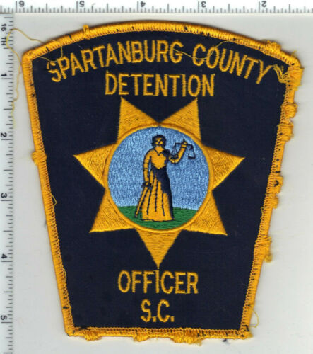 Spartanburg County Detention (South Carolina) 1st Issue Uniform Take-Off Patch