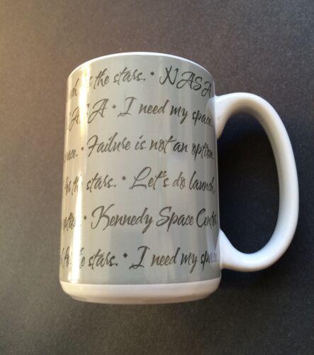 Kennedy Space Center NASA Coffee Mug; I Need My Space- no ...