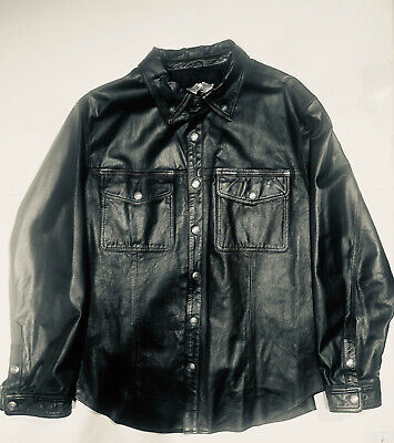 Harley Davidson leather shirt/jacket XL men