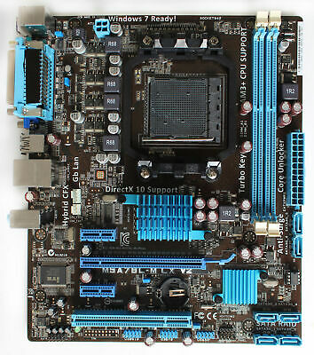 Socket AM3b M5A78L-M LX V2 Desktop Motherboard For ASUS AMD 780L/SB710