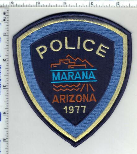 Marana Police (Arizona) 3rd Issue Shoulder Patch
