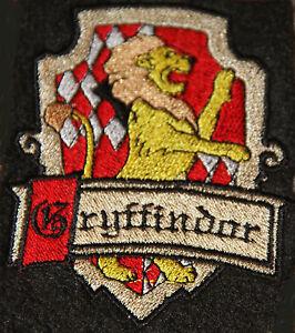 Wappen GRYFFINDOR aus Harry Potter  Aufnäher Patch NEU