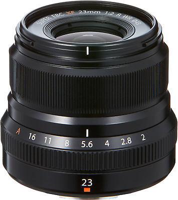 Fujifilm XF23mm F2 R WR Lens (Black)
