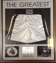 """Muhammad Ali """"THE GREATEST"""" with COA. Mount Gambier Grant Area Preview"""