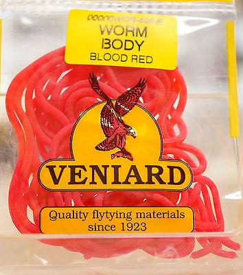 WORM BODY Squirmy Worm Veniard Killer Material BLOOD RED billiger (Billig Bodys)