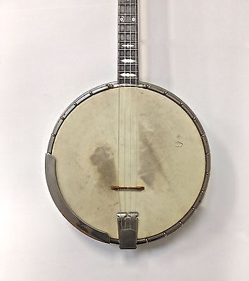 Vintage 1920's Bacon & Day Super Banjo