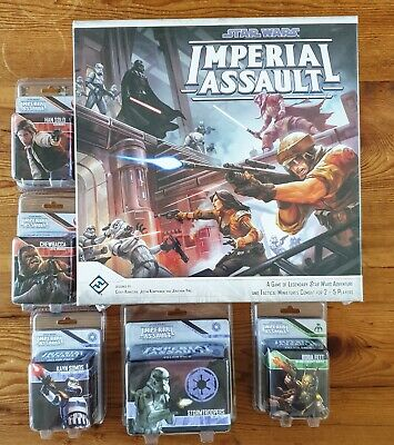STAR WARS IMPERIAL ASSAULT CORE GAME + MOST WANTED EXTRAS - NEW